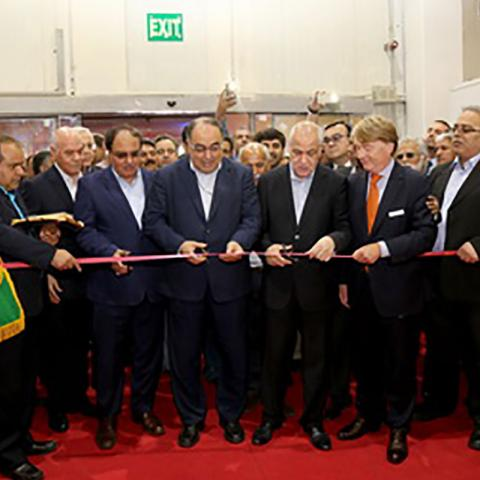 برگزاری مراسم افتتاح دو نمایشگاه در محل دائمی نمایشگاههای بین المللی ج.ا.ایران غرفه سازی نگاه سبز آگرین