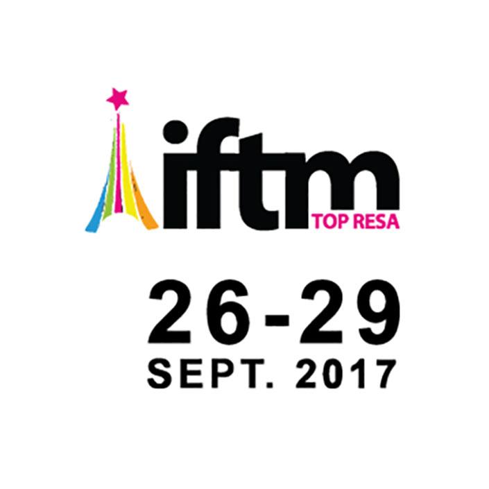 """نمایشگاه بین المللی تخصصی بازار گردشگری فرانسه که با نام """" آی. اف. تی. ام. """" یا """"تاپ رزا"""" شناخته میشود ازتاریخ ۲۹ لغایت ۲۶ سپتامبر ۲۰۱۷، ۴ الی ۷ مهرماه ۹۶ در پاریس"""
