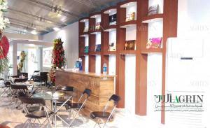 غرفه شرکت شونیز نمایشگاه شیرینی و شکلات 96 shoniz confectionery