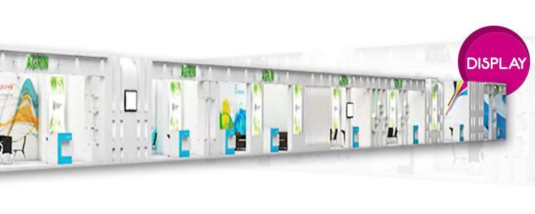 اجاره غرفه های خودساز Display