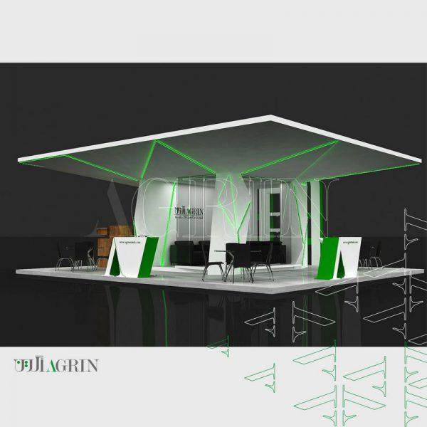 نگاه سبز آگرین ، نمایشگاه میدکس دی ماه ۹6