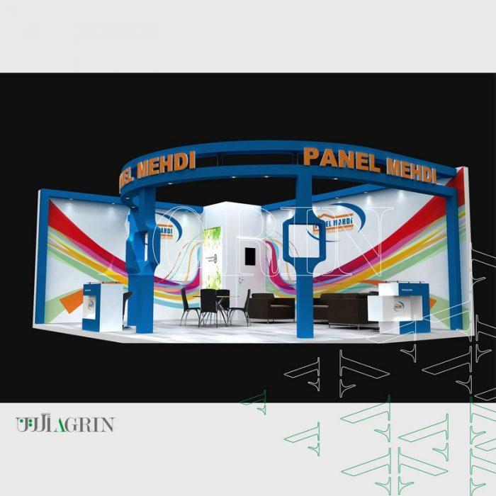 پانل مهدی ، نمایشگاه صنعت ساختمان مرداد ماه ۹۶