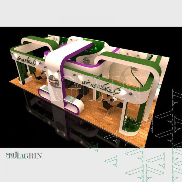 کارگزاری رضوی ، نمایشگاه ایران پلاست ۹۳