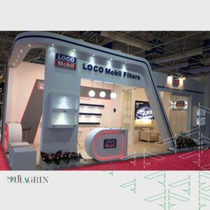 لوکومبیل ، نمایشگاه نفت و گاز اردیبهشت ماه ۹۸ - خودساز