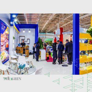 کره آذربایجان نمایشگاه اگروفود خرداد ۹۸ خودساز