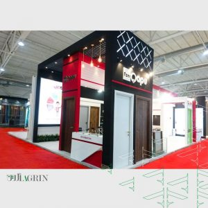 آذرقاپو نمایشگاه صنعت ساختمان مرداد ۹۸ خودساز