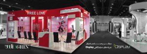 مبتکر و صاحب امتیاز نسل جدید غرفه های نمایشگاهی با برند display در ایران