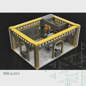 vip وی آی پی ، نمایشگاه پوشاک - نساجی ۹۸ غرفه خودساز