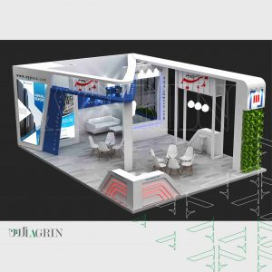 پردازش موازی سامان ، نمایشگاه رنگ و رزین ۹۸ غرفه خودساز