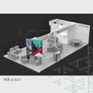 چاپ تافته ، نمایشگاه پوشاک - نساجی ۹۸ غرفه رپید سیستم