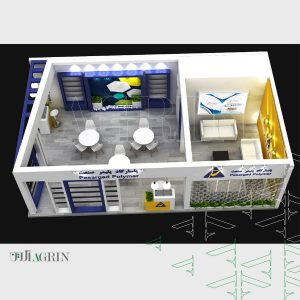 پاسارگاد پلیمر صنعت ، نمایشگاه چاپ و بسته بندی ۹۸ غرفه خودساز