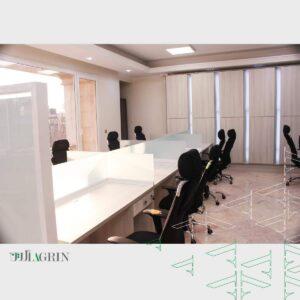 دکوراسیون اداری ساختمان 5 طبقه شرکت سداد