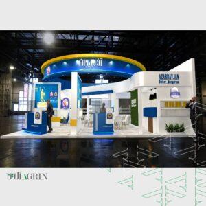 کره آذربایجان ، نمایشگاه آگروفود 99 غرفه خودساز