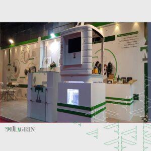 الکتروموتور آریا ، نمایشگاه تاسیسات ۹۹ غرفه Display