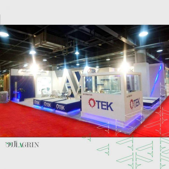 otek پژوهشگران الکترونیک خودرو کامیاب ، نمایشگاه تاسیسات ۹۹ غرفه خودساز