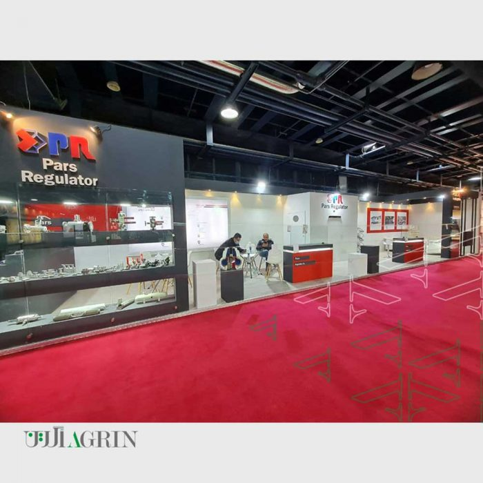 غرفه خودساز شرکت پارس رگولاتور نمایشگاه نفت و گاز 99