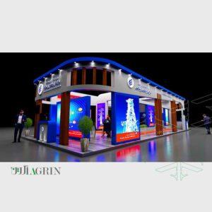 زیرساخت , غرفه ساخته شده شرکت ارتباطات زیرساخت در سال 99 , شرکت نگاه سبز آگرین