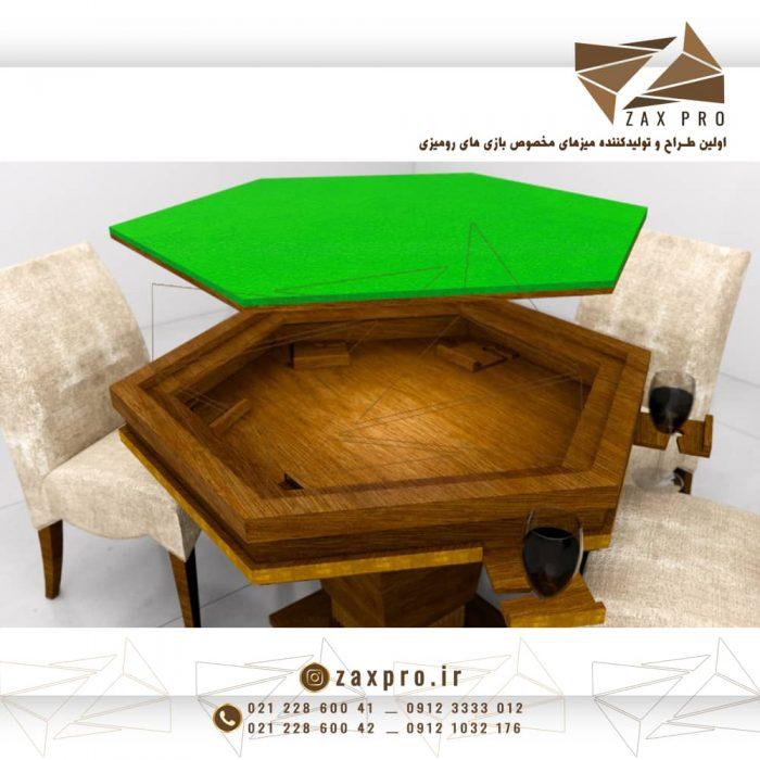 میز بازی کد ZA1