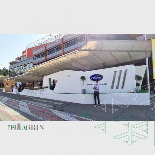 غرفه خودساز شونیز 1400 نمایشگاه شیرینی و شکلات