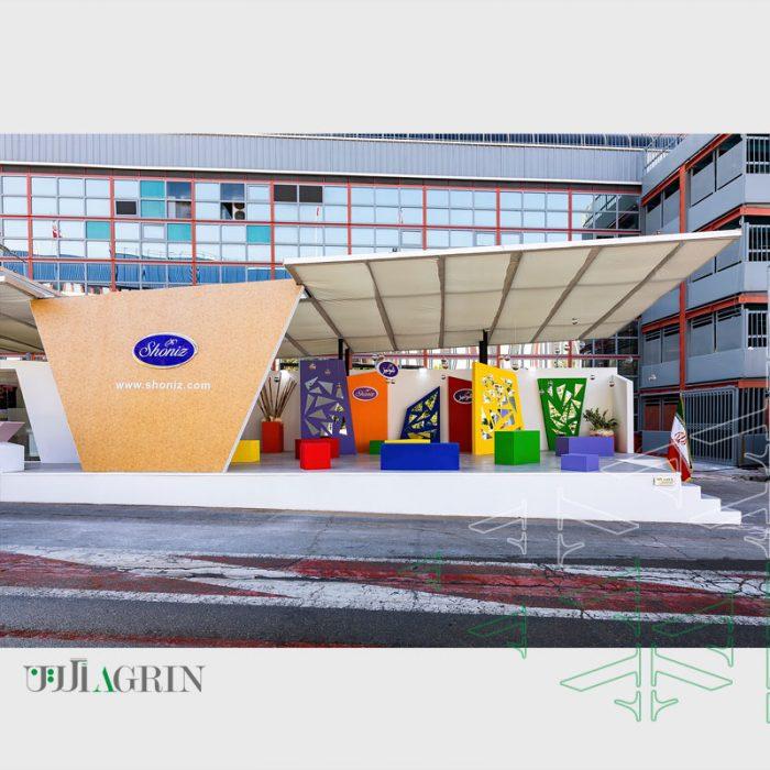 غرفه خودساز شونیز ۱۴۰۰ نمایشگاه شیرینی و شکلات